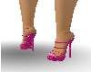 pink Platform heels