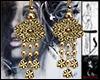 Ts Gold Roses Earrings