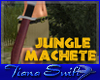 Jungle Machete Sheathed