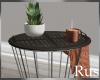 Rus Burke End Table
