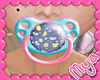 Kid Colorful Birds Paci