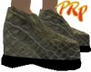 SnakeSkin Low Heels