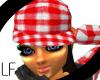 [LF] Red Plaid Hat