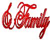 & Family  3D Sign
