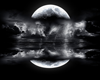 Blk and white Moon