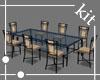6 seats Retro Table