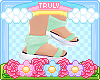 ・゚✧ Mint Sandals