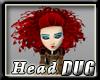 Big Head Alice Red Queen