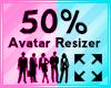 Avatar Scaler 50%