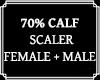 Calf Scaler 70%