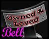 BT~ M/F Own&Love Collar