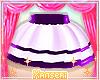 !* Purple Layer Skirt