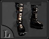 Male Goth Boots W/Spikes