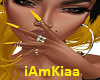 sparkle yellow nails