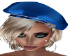 Winter Blues Beret/Blond
