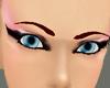Blue Fuzz Female Eyes