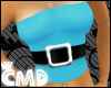 {CMD} Blue Top+Blaq Belt