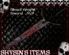 B Knight Sword M/F