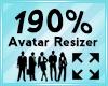 Avatar Scaler 190%