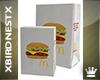 [B] Fast Food Bags