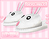 "k"" bunny slippers_m"