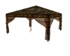 Brown accent canopy