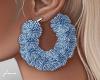 f. blue fur hoops