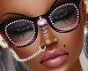 Pink Diamonds Glasses
