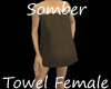 Somber Towel Wrap F
