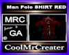 Man Polo SHIRT RED