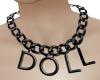 Sad Doll Necklace