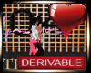{R} Der Heart W/Kiss