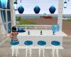 Ocean blue bar