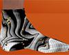 Halloween Swirl Sock 10M