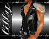 Leather chain vest