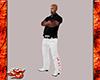 White LZC Pants