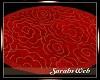 Love Shack Roses Rug