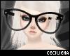 ! Huge Black Glasses