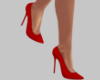 Red Spike Heel Shoes