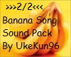 Banana Song Sound 2/2