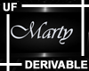 UF Derivable Marty Sign