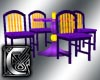 C - Purplicious Table/Ch