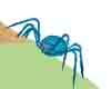 *CJ*LacySpider(blue)