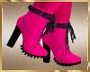 A90 Hot Pink Boots