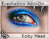 Blue Eyeshadow-Koby