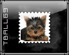 Yorkie Pup Stamp