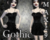 Gothic Lil Black Dress