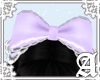 Headdress bow~ Lavender