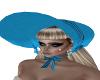 Victorian Blue Hat
