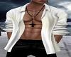 Open White Summer Shirt